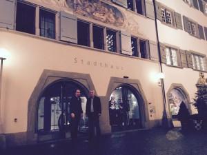 Goldene Plakette 2015 - Stadthaus Zug - Martin und Huso